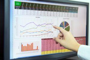 salesforce datensatzbezogene Diagramme