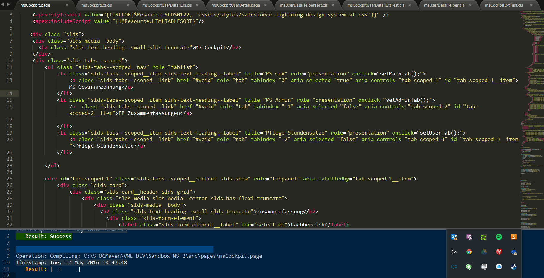 Sublime Text mit Mavensmate als Salesforce IDE