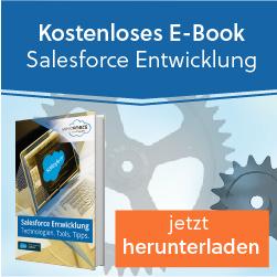Apex Entwicklung als zentraler Bestandteil der Salesforce Entwicklung in unserem E-Book