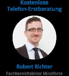 Fachbereichsleiter von Mindforce Robert Richter