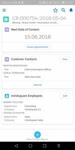 Salesforce App Mockup