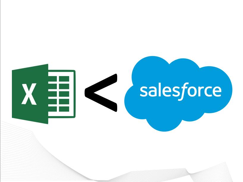 Excel vs. Salesforce