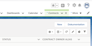 Salesforce Dokumentations-App: Auf Dokumentation verlinken