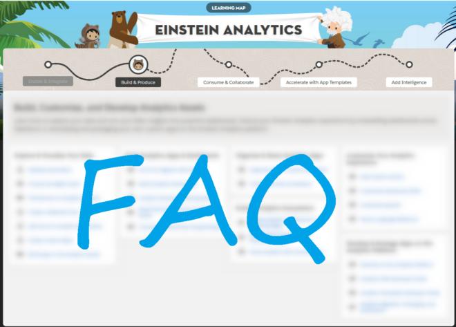 Einstein Analytics FAQ