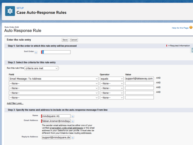 Case Auto-Response Rule