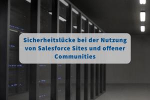 Salesforce Sites