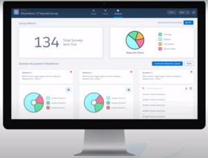 Salesforce Survey   Darstellung von Umfrageergebnissen